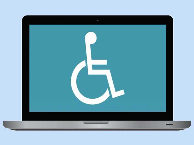 handicap friendly website