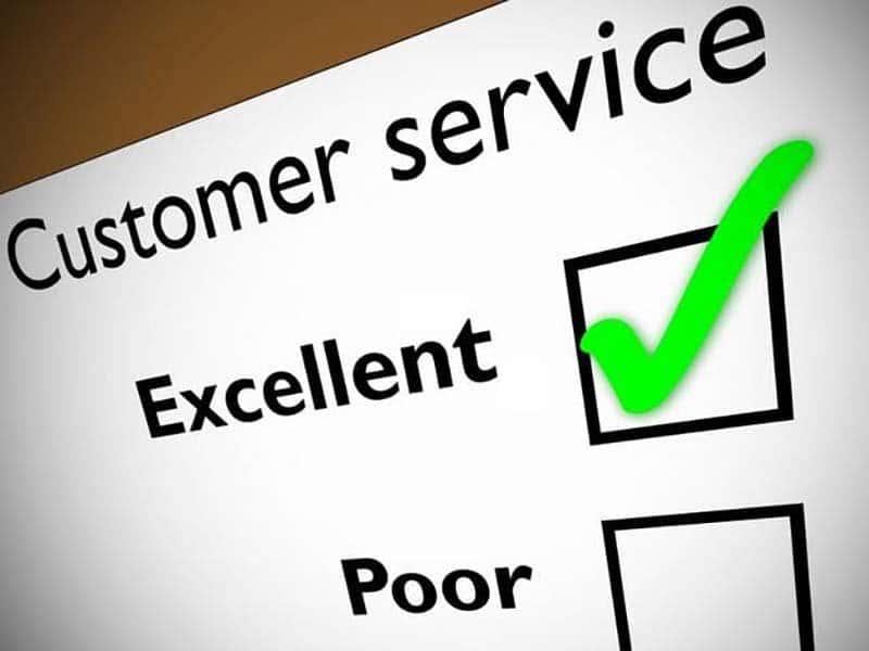 web design customer service