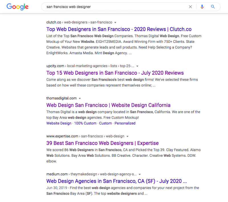 How To Get On The First Page Of Google Deepblue Seo